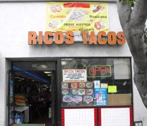 Ricos Tacos Exterior