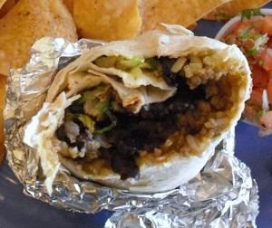 Taco Spot Burrito