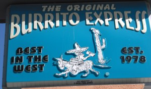 Burrito Express Sign