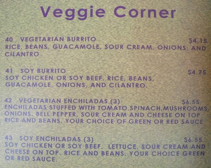 las-glorias-del-buen-comer-vegetarian-menu