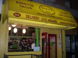 Burrito Box Exterior
