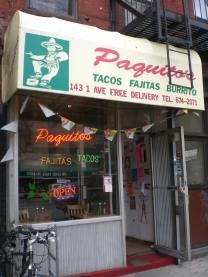 Paquito's Exterior