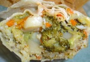 Julio's Garden Burrito