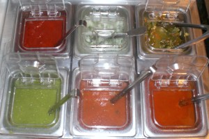 Uncle Moe's Salsa Bar