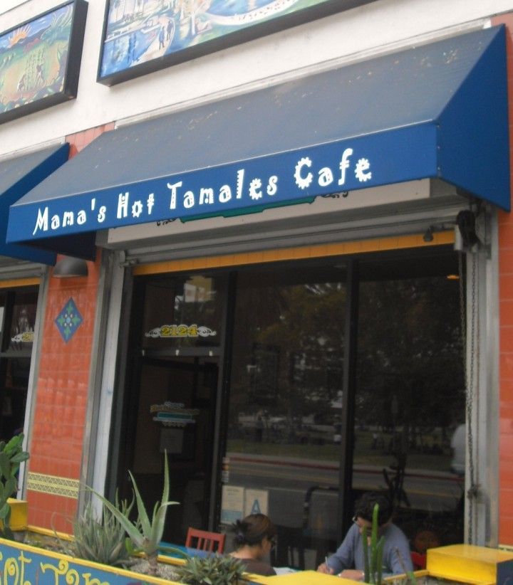 Mama's Hot Tamales Cafe Exterior